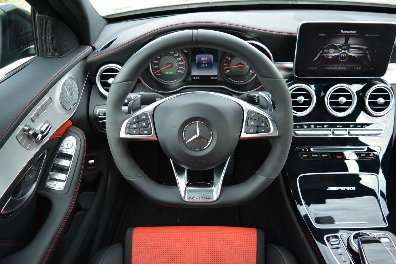 2017 Mercedes AMG C 63 S