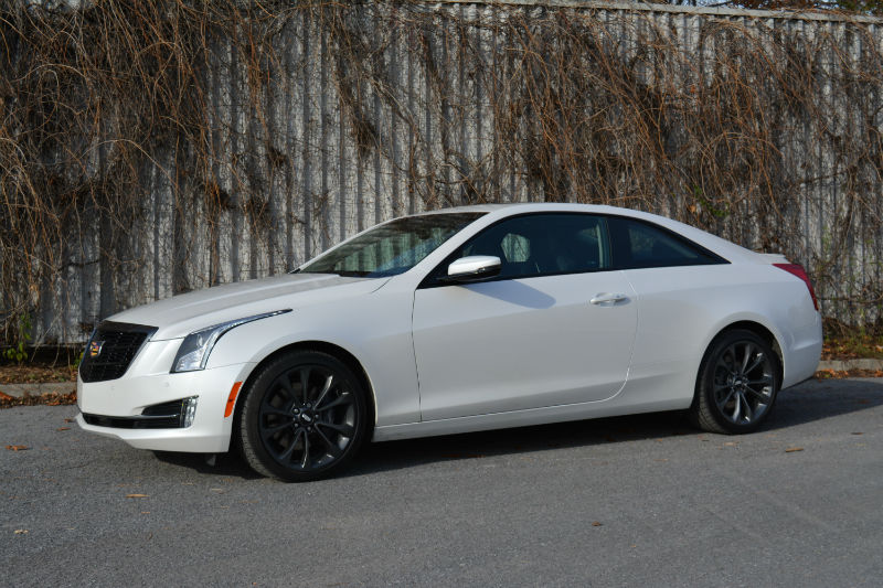 Quick Review 2017 Cadillac Ats 3 6l Coupe Awd Motor Illustrated