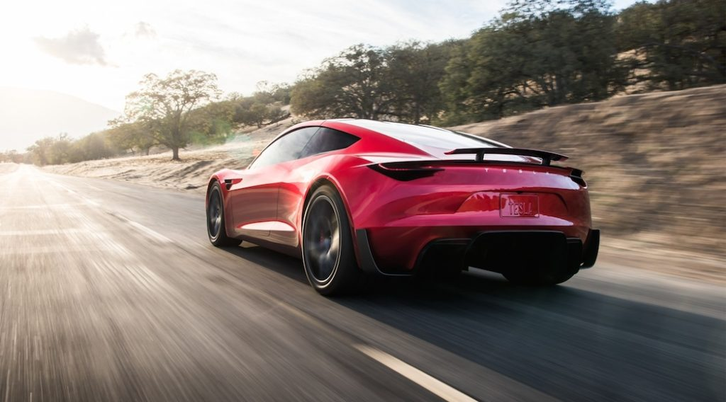 Tesla Roadster | Photo: Tesla