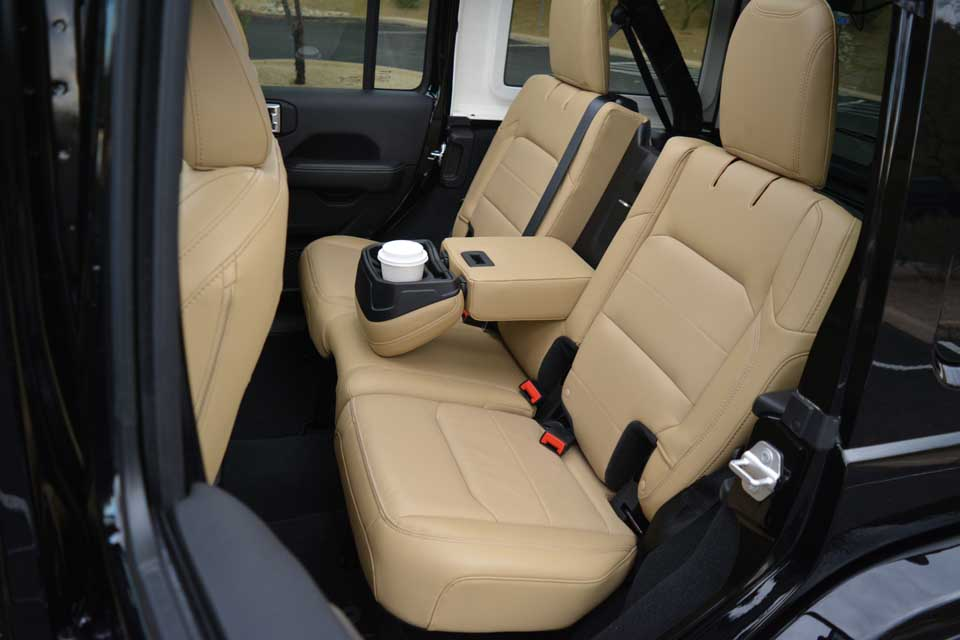 Jeep Wrangler Rear Seats