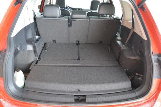 Volkswagen Tiguan trunk