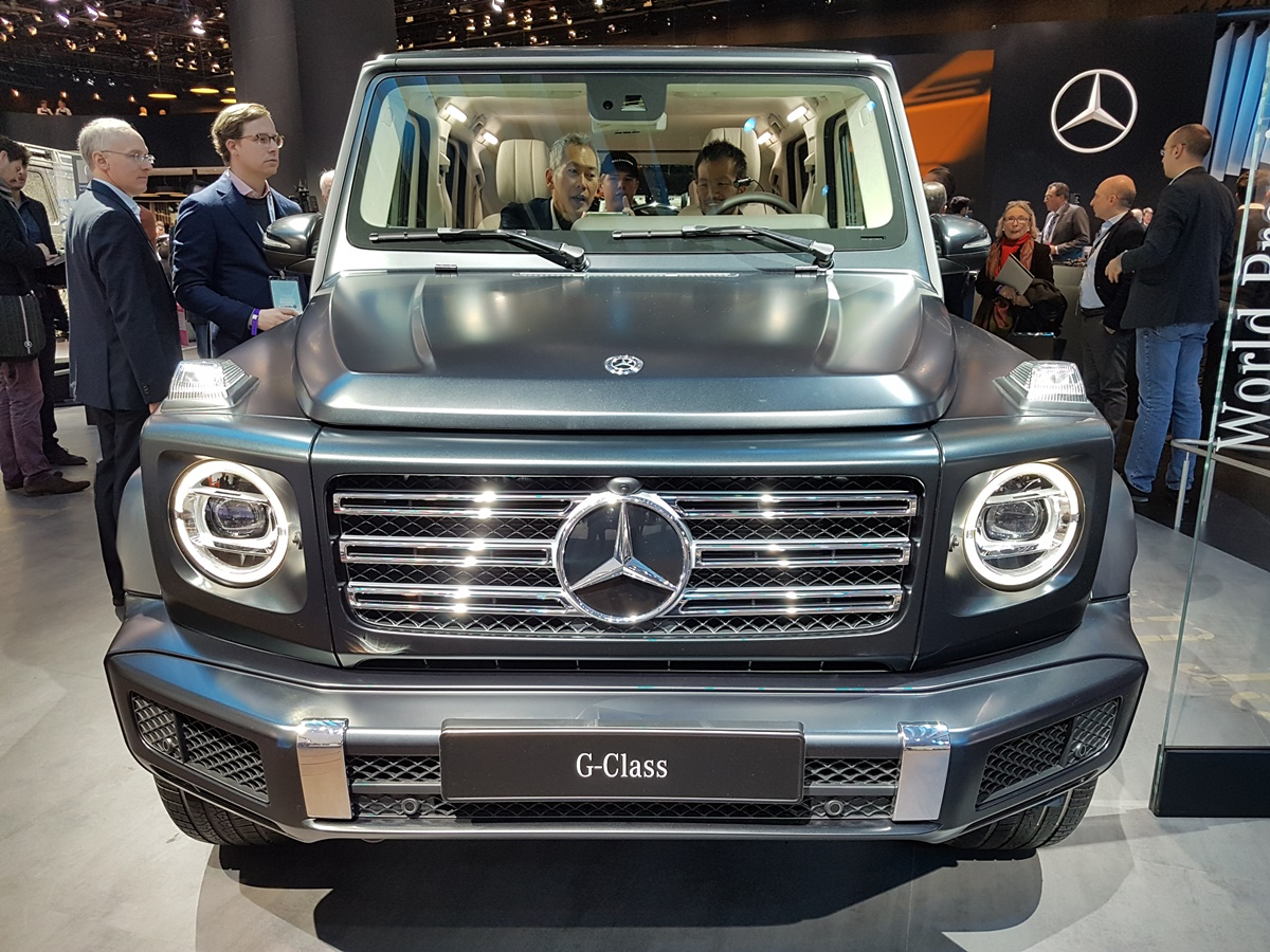 The 2019 Mercedes G Class More Capability Less Weight