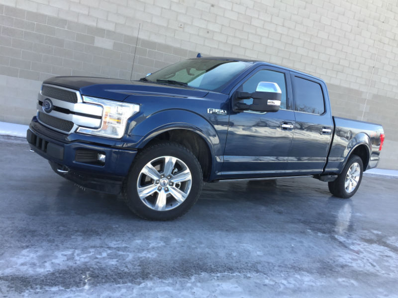 Review 2018 Ford F 150 Platinum Motor Illustrated