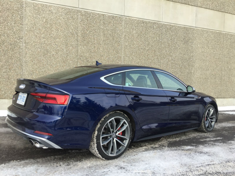 2018 audi s5 sportback review - motor illustrated