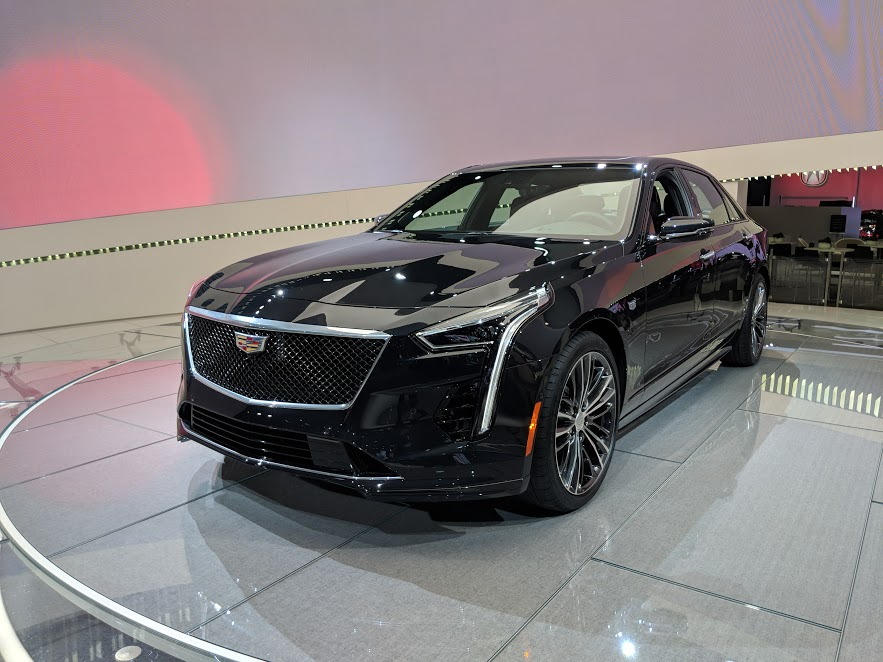 Nyias 2018 The 2019 Cadillac Ct6 V Sport Bows In Nyc Motor
