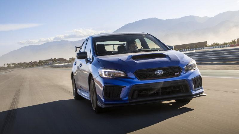 2019 Subaru Wrx Sti Finally Gets More Power Motor Illustrated