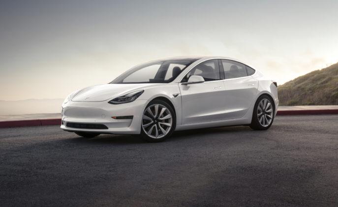 Base Tesla Model 3