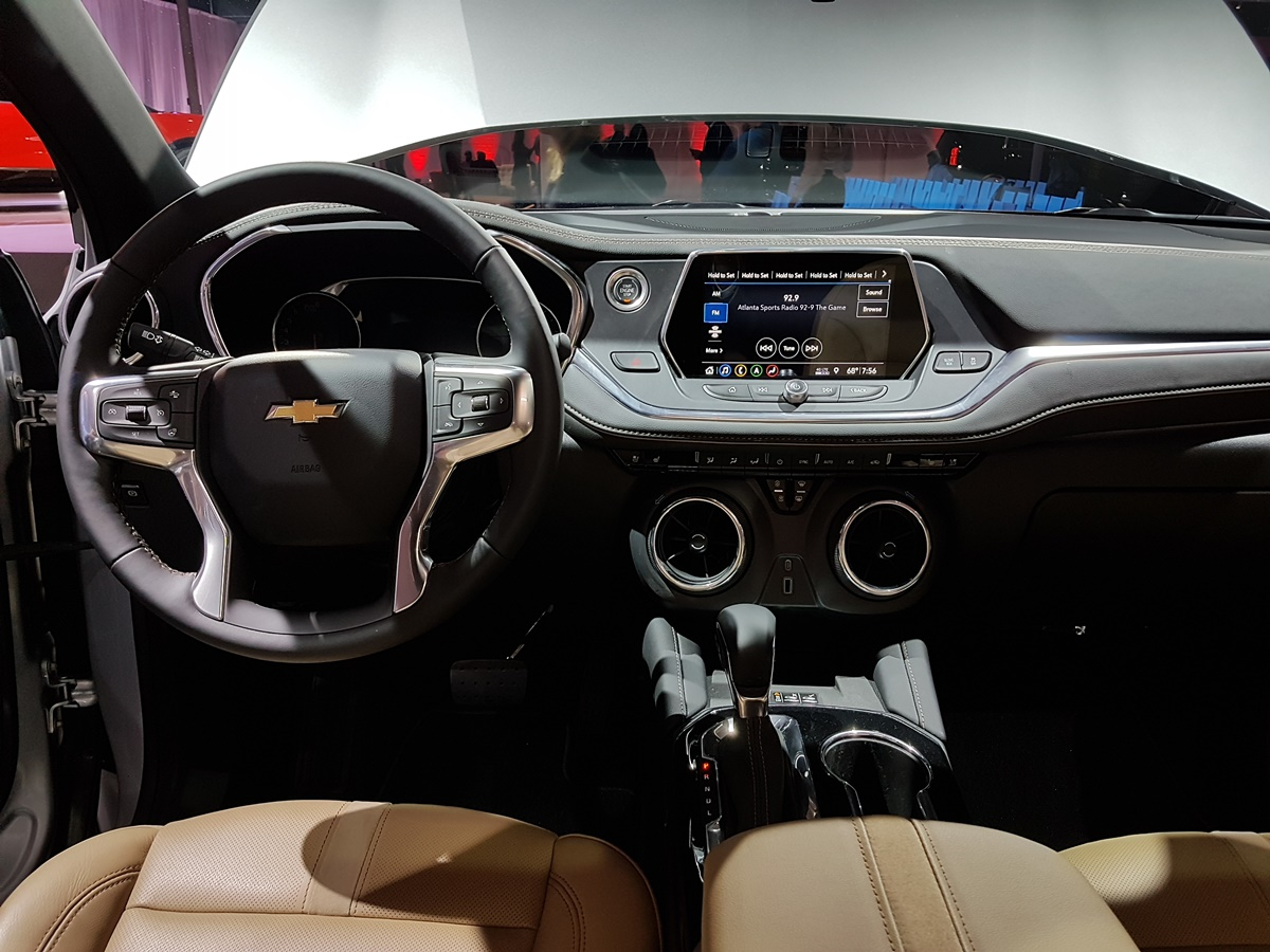 The all-new 2019 Chevrolet Blazer unveiled in Atlanta ...