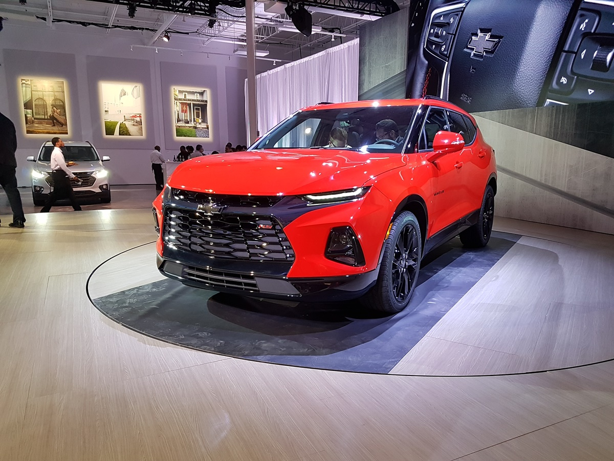 The all-new 2019 Chevrolet Blazer unveiled in Atlanta ...