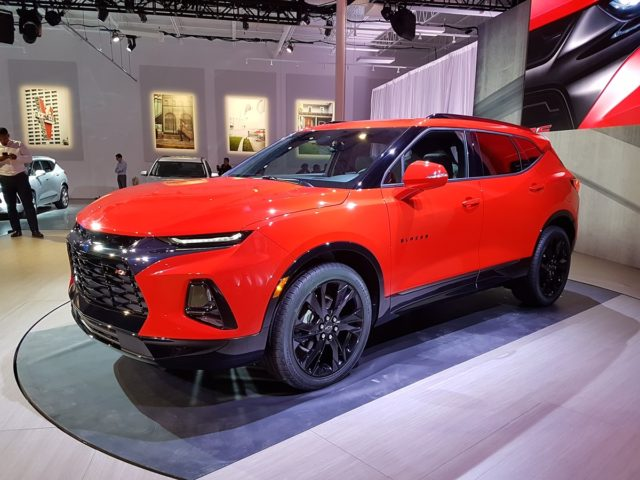 New Chevrolet Trailblazer 2018 >> The all-new 2019 Chevrolet Blazer unveiled in Atlanta - Motor Illustrated