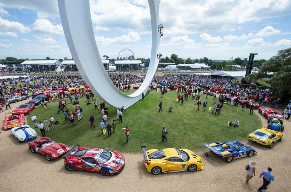 Festival Of Speed >> The Goodwood Festival Of Speed Is In Full Effect Motor Illustrated