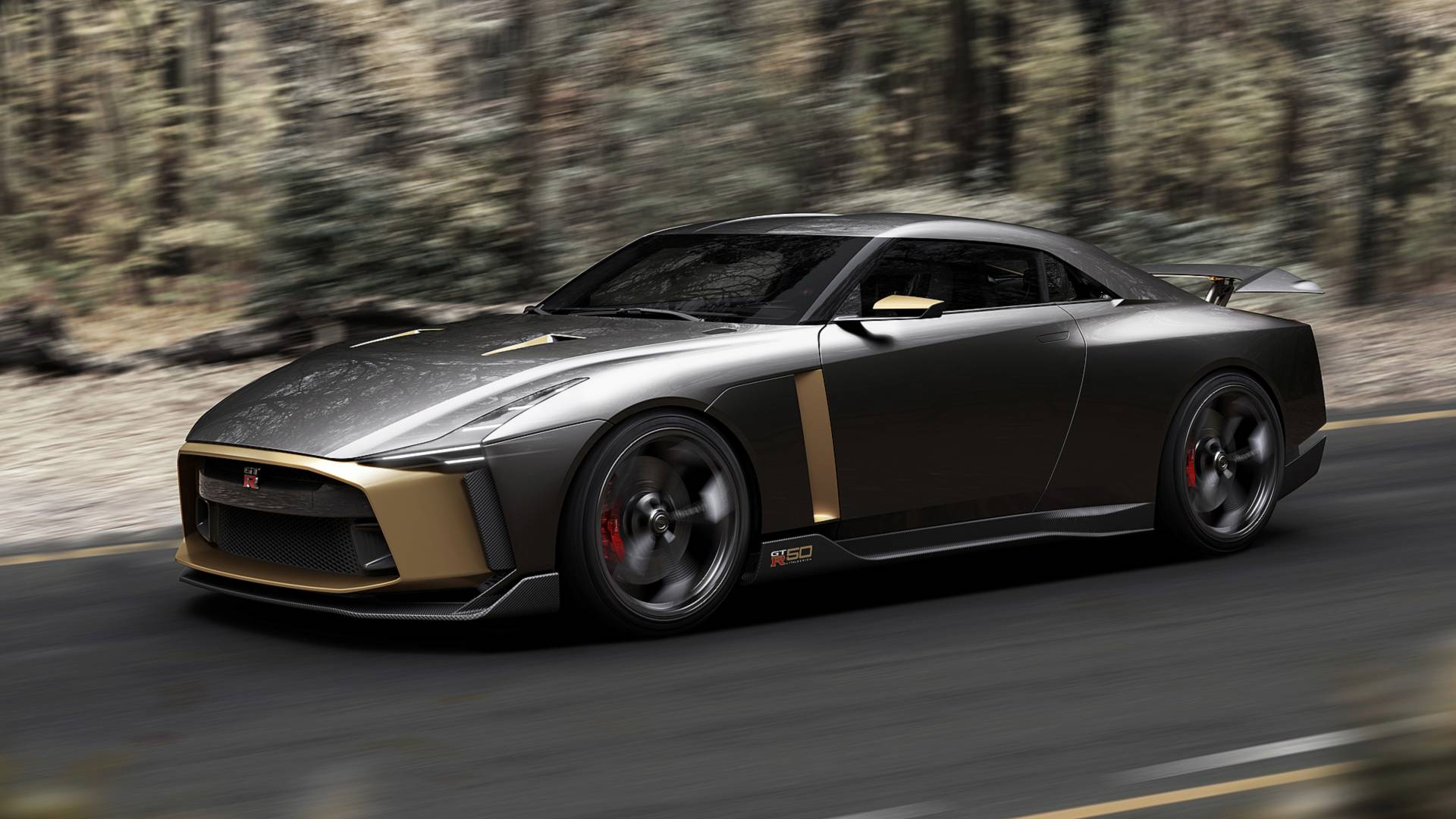 Italdesign Nissan GT-R50