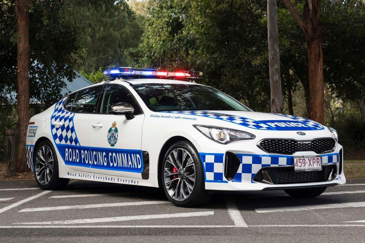Australia Police Stinger