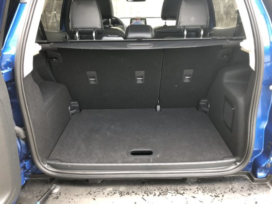 Ford Ecosport trunk