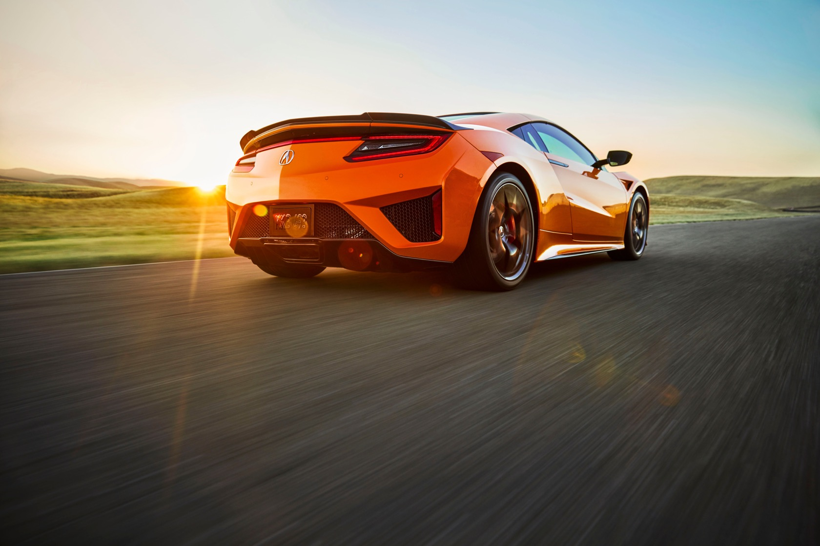 2019 Acura NSX rear