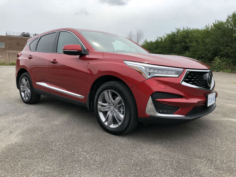 2019 Acura Rdx Platinum Elite Review Motor Illustrated