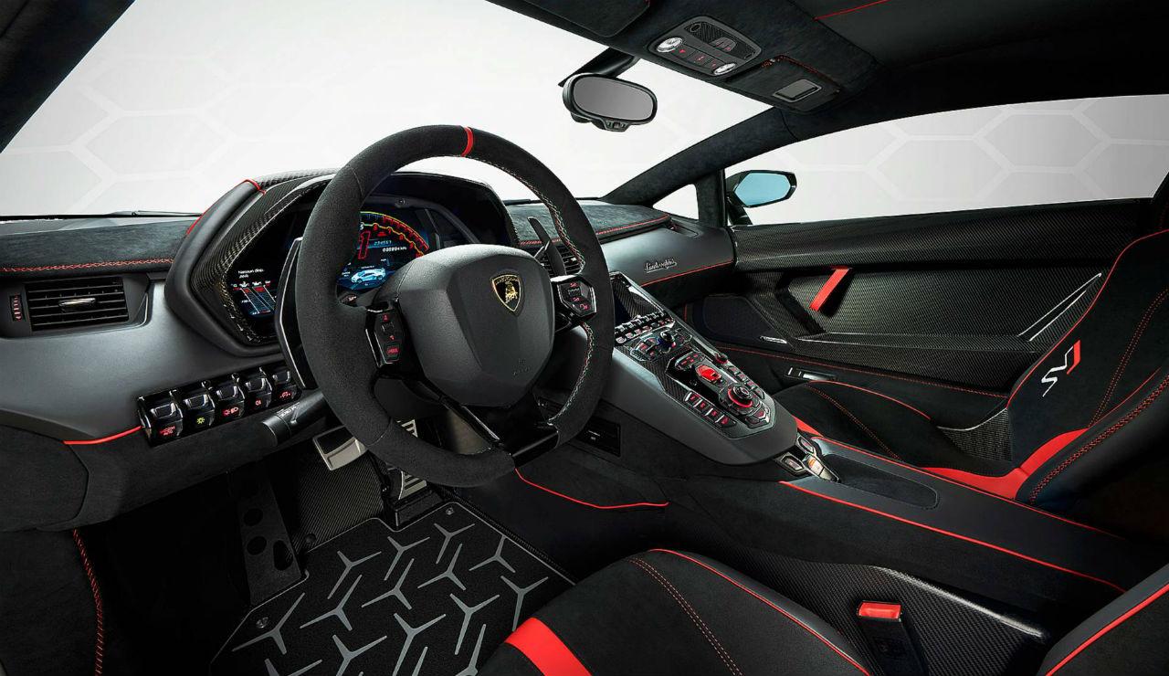 The Lamborghini Aventador Svj 770 Horsepower V12 And Technical