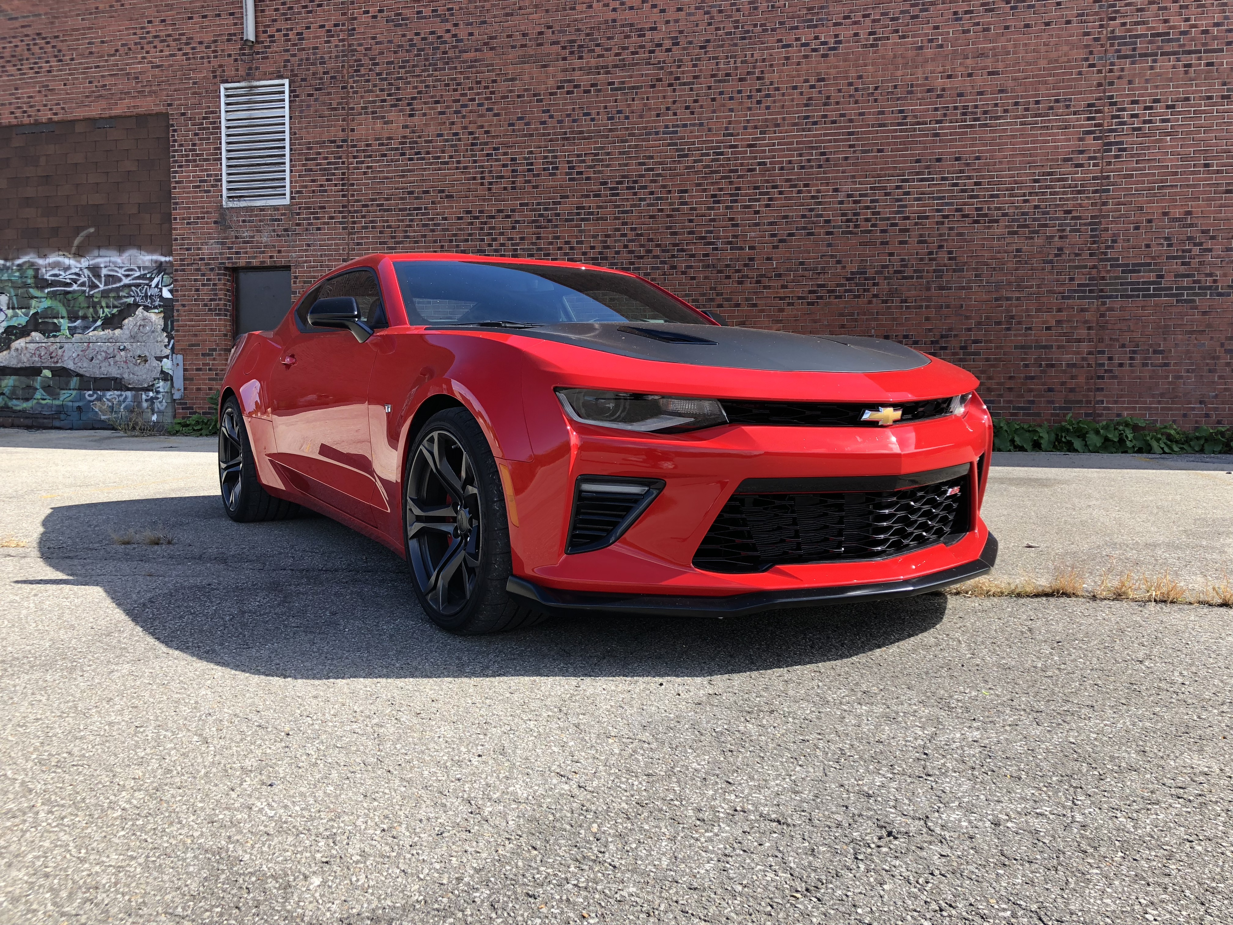 2018 Chevrolet Camaro SS 1LE 3/4 front