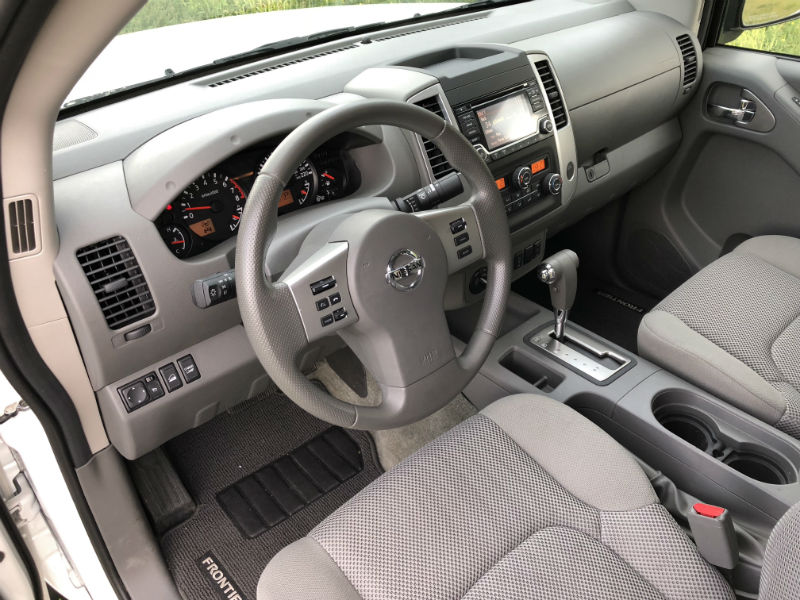 Current Nissan Frontier Interior