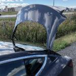 Tesla Model 3 trunk water