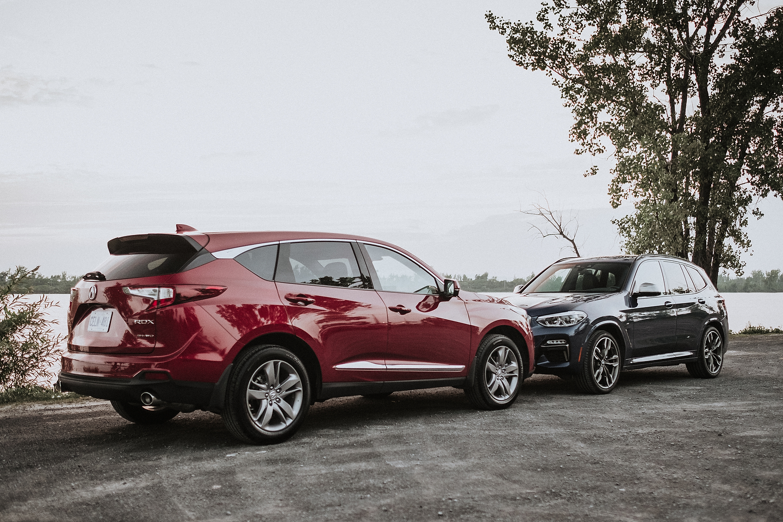 2018 BMW X3 vs 2019 Acura RDX Quick Comparison - Motor ...