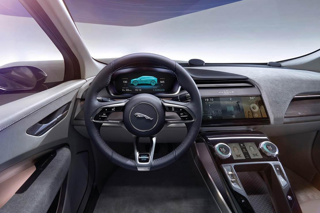 2019 Jaguar I-Pace interior 3