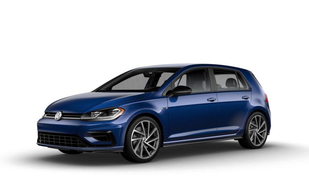 2019 Volkswagen Golf R Inky Blue