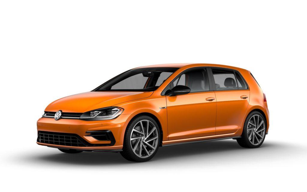 2019 Volkswagen Golf R Magma Orange