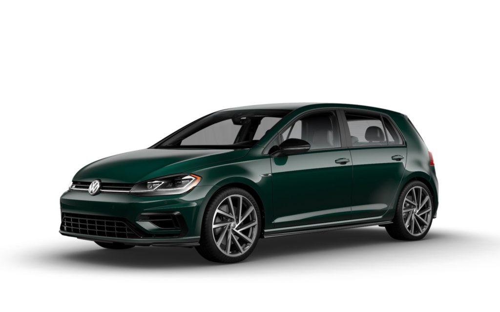 2019 Volkswagen Golf R Racing Green