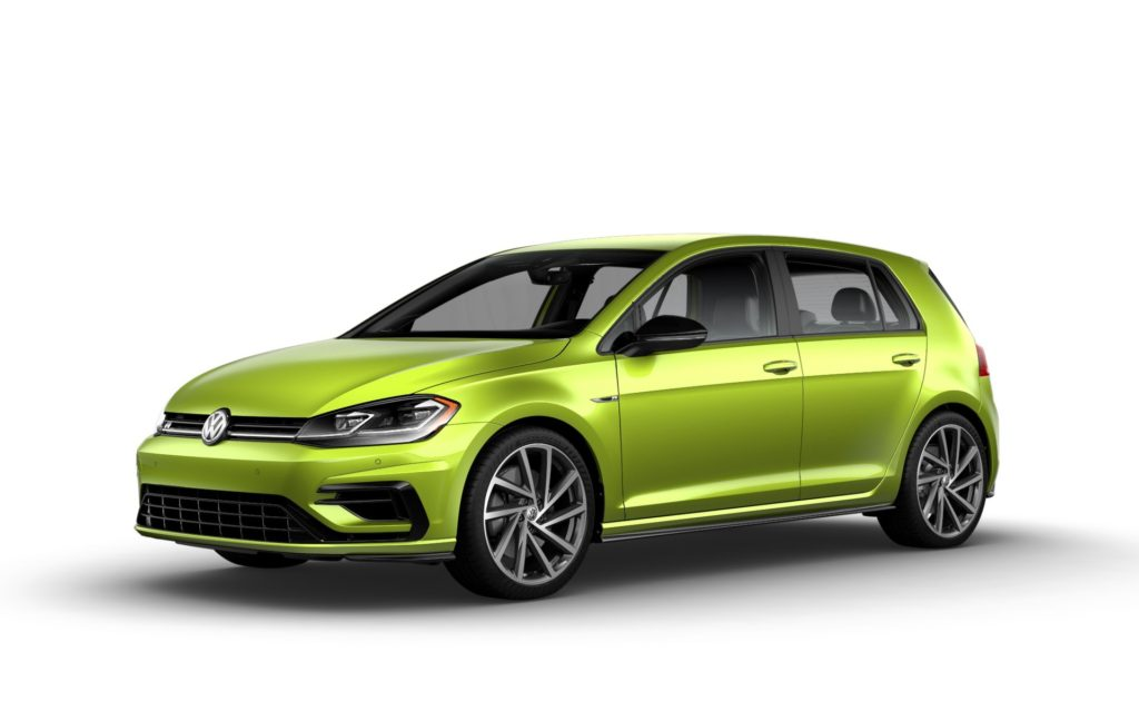 2019 Volkswagen Golf R Viper Green