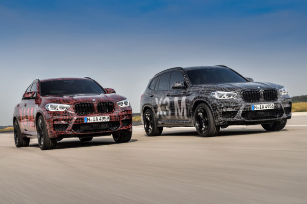 2020 BMW X3 M and BMW X4 M 1