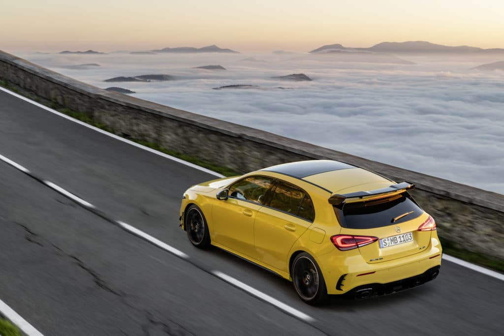 2020 mercedes-amg a35 is coming to canada