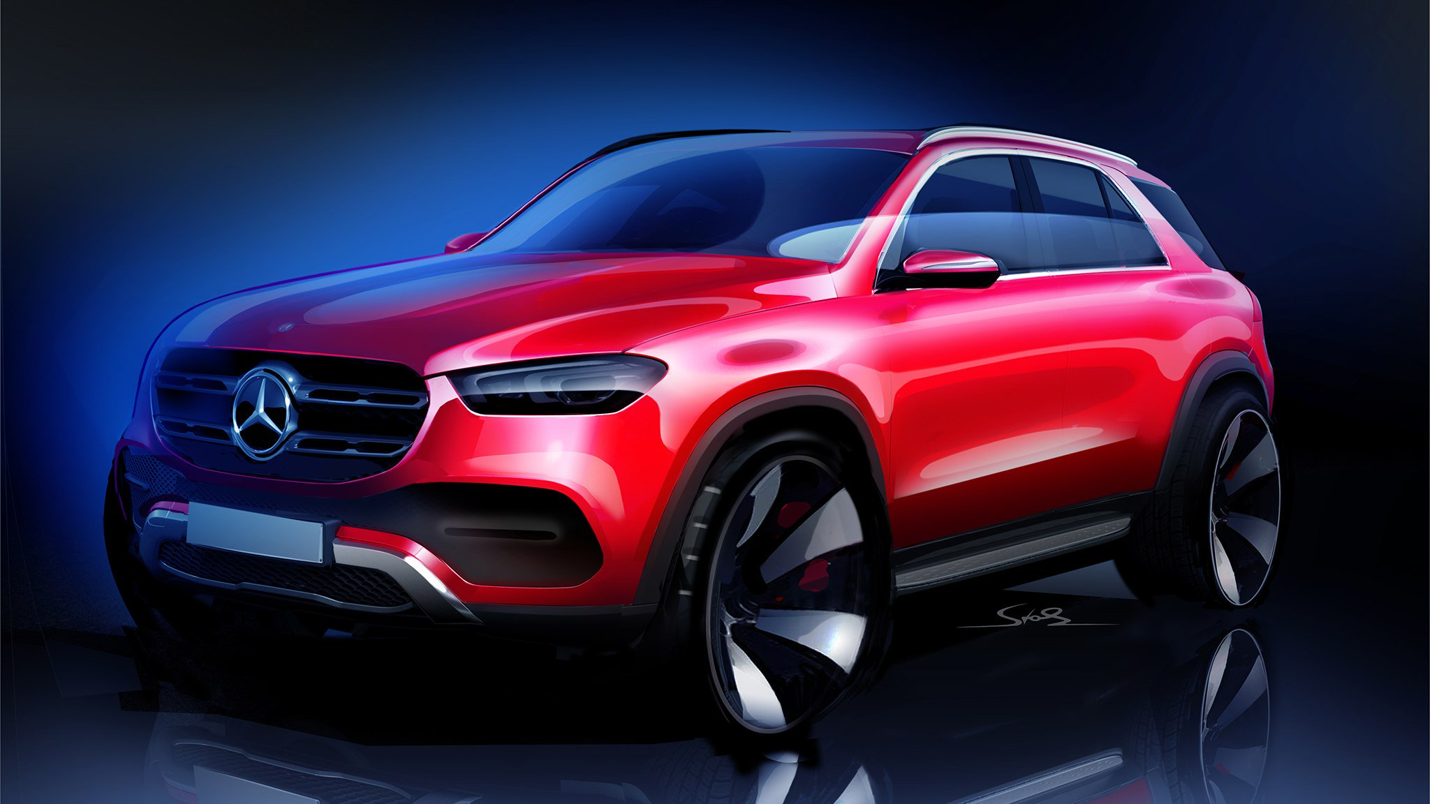 2020 Mercedes-Benz GLE Concept