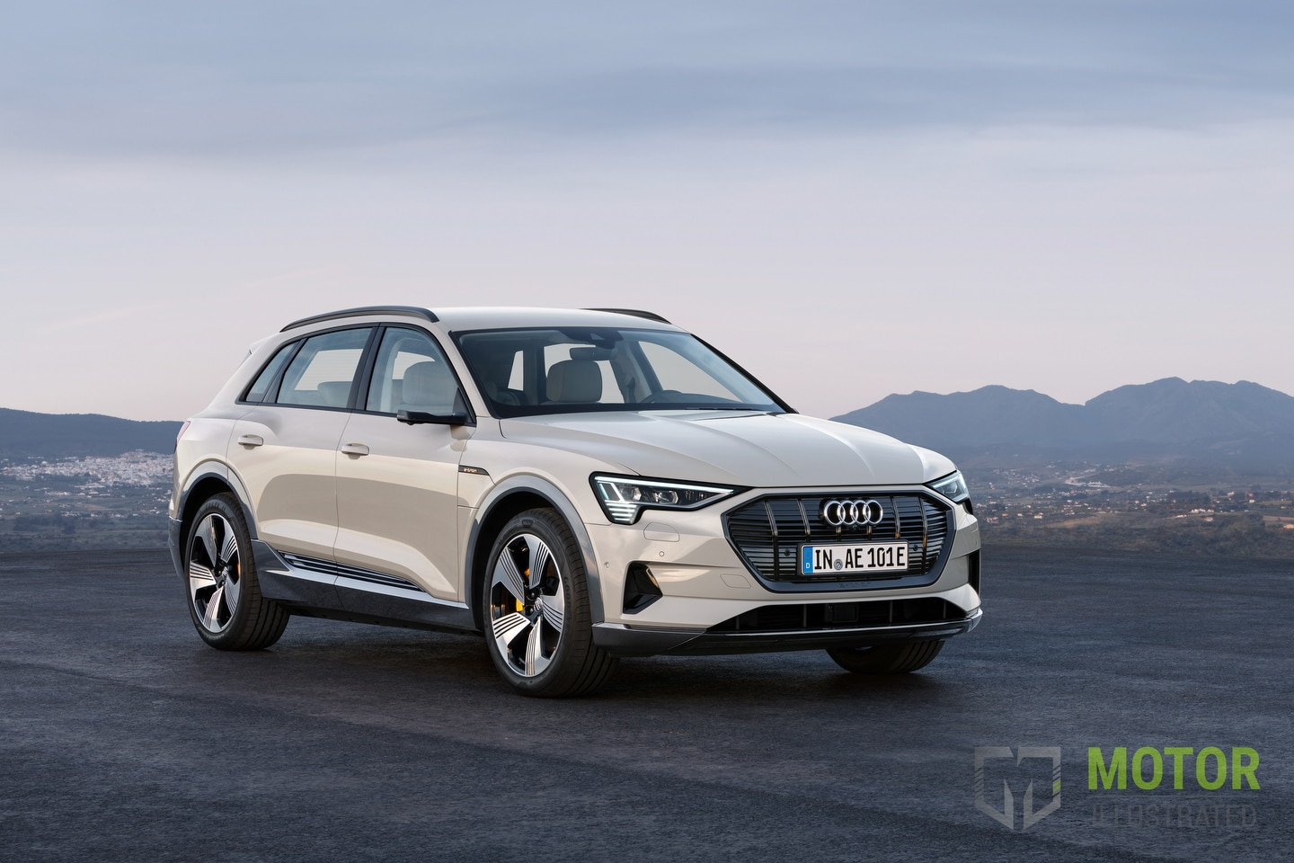 New 2020 Audi E-Tron electric SUV unveiled in San ...