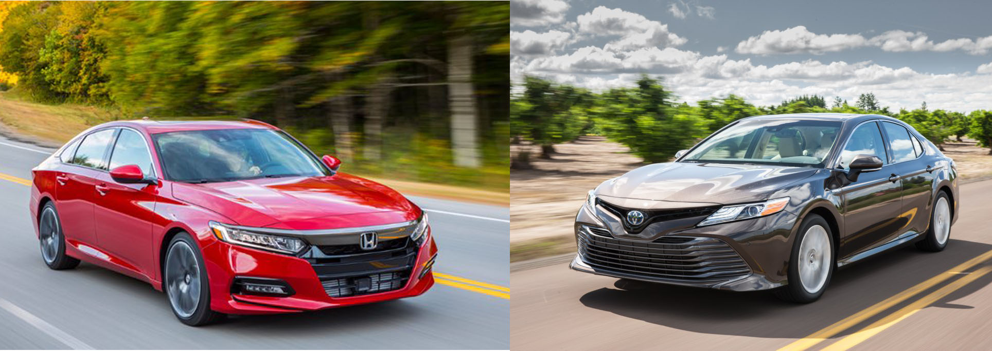 Accord Vs Camry >> 2019 Toyota Camry Vs 2019 Honda Accord Quick Comparison Motor