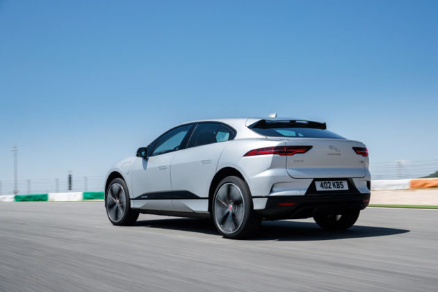 2019 Jaguar I-Pace rear