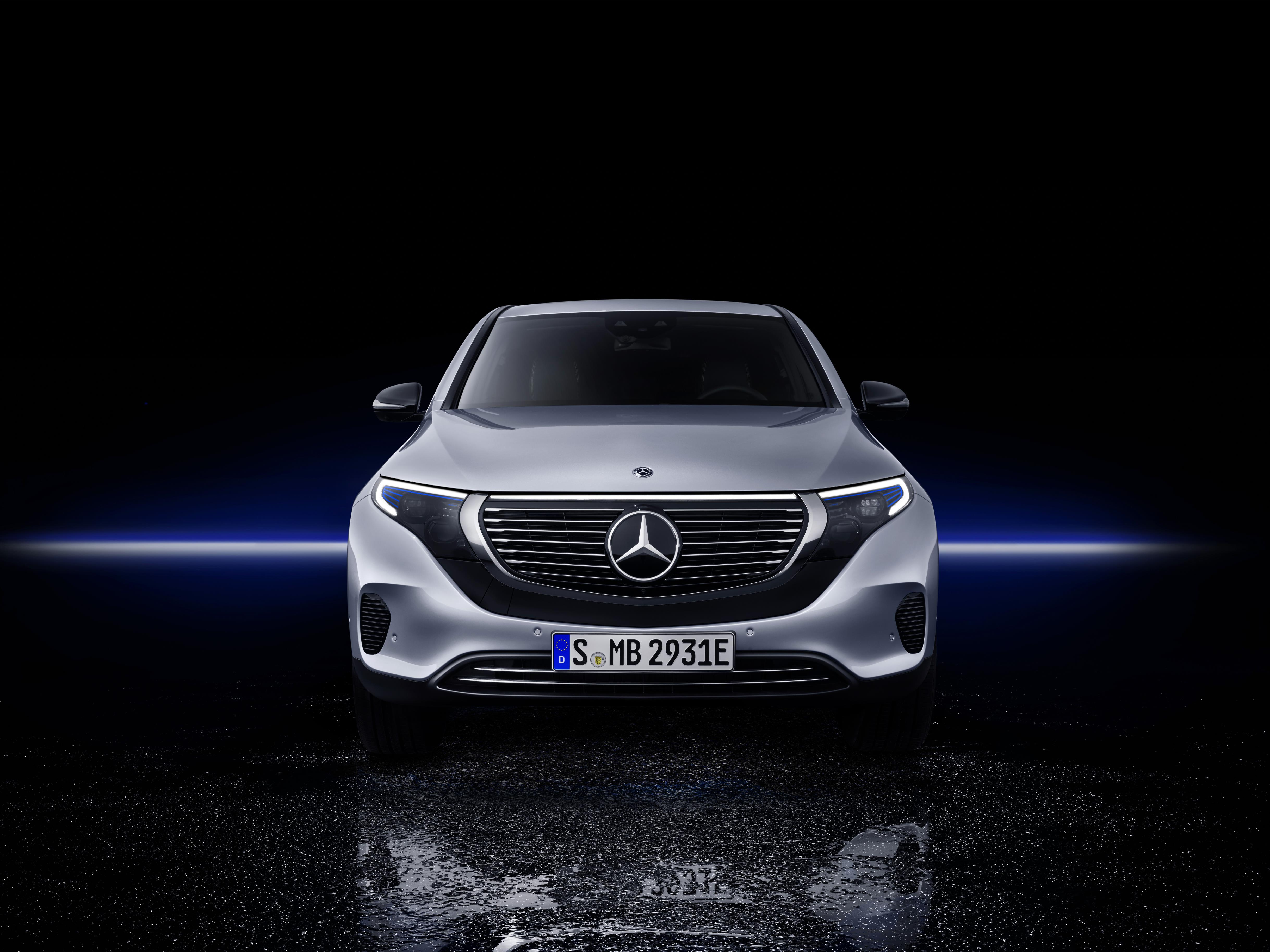 New Electric Mercedes Benz Eqc Suv Unveiled Today In