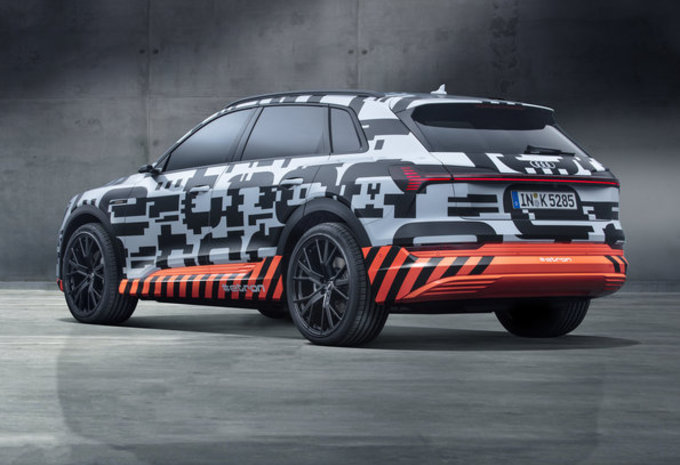 Audi E-Tron SUV Quattro