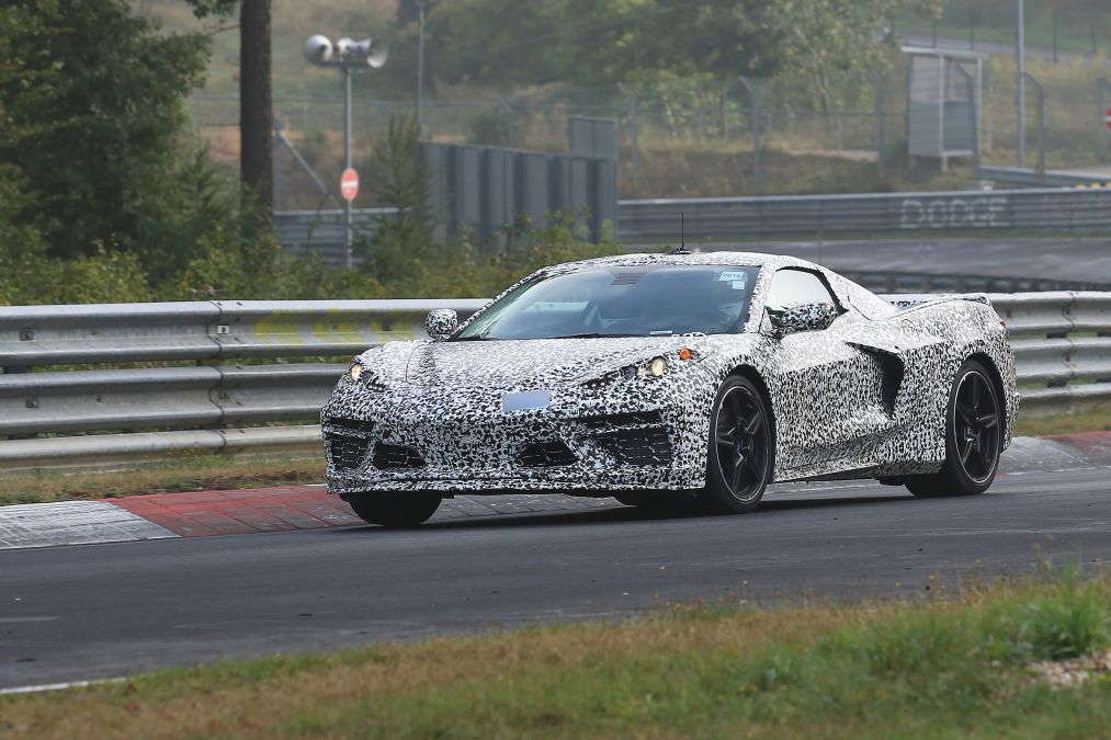 Mid Engine C8 Corvette Sightings And Details Increasing By