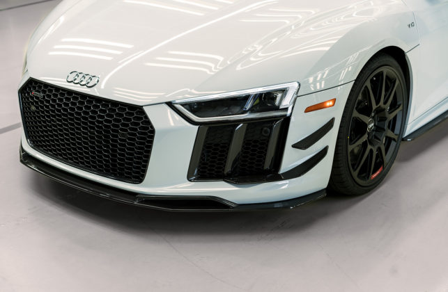 2018 Audi R8 V10 plus Coupe Competition package front bumper