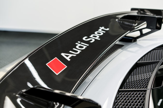 2018 Audi R8 V10 plus Coupe Competition package spoiler