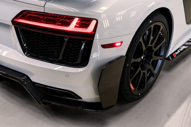 2018 Audi R8 V10 plus Coupe Competition package rear cannards