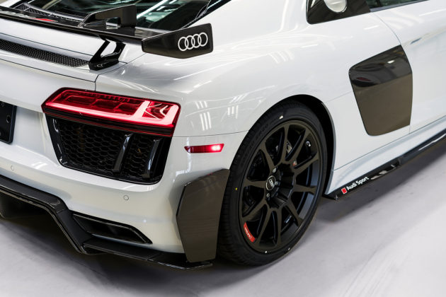 2018 Audi R8 V10 plus Coupe Competition package rear bumper