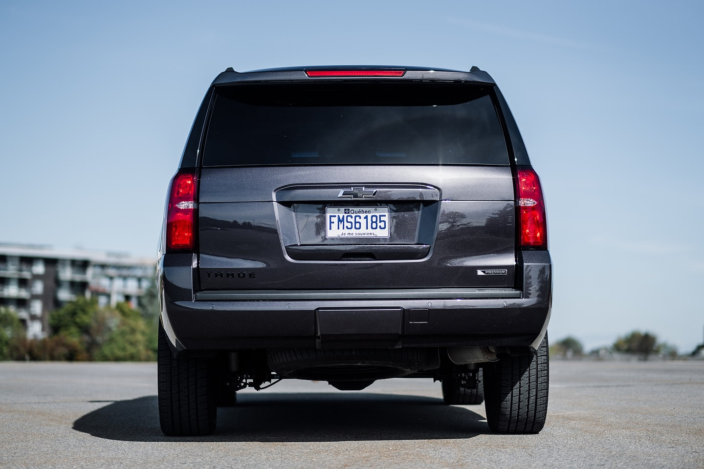 2018 Chevrolet Tahoe Premier RST rear