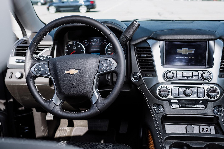 2018 Chevrolet Tahoe Premier RST steering wheel
