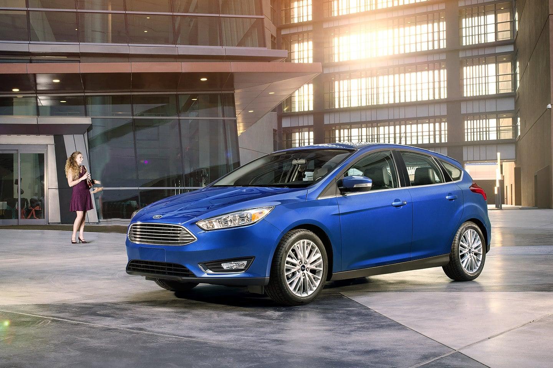 2018 Ford Focus exterior