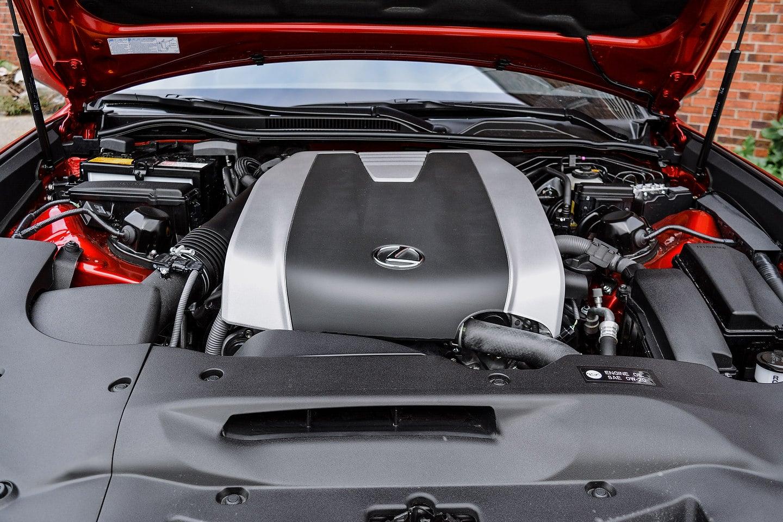 2018 Lexus RC 300 AWD F-Sport engine