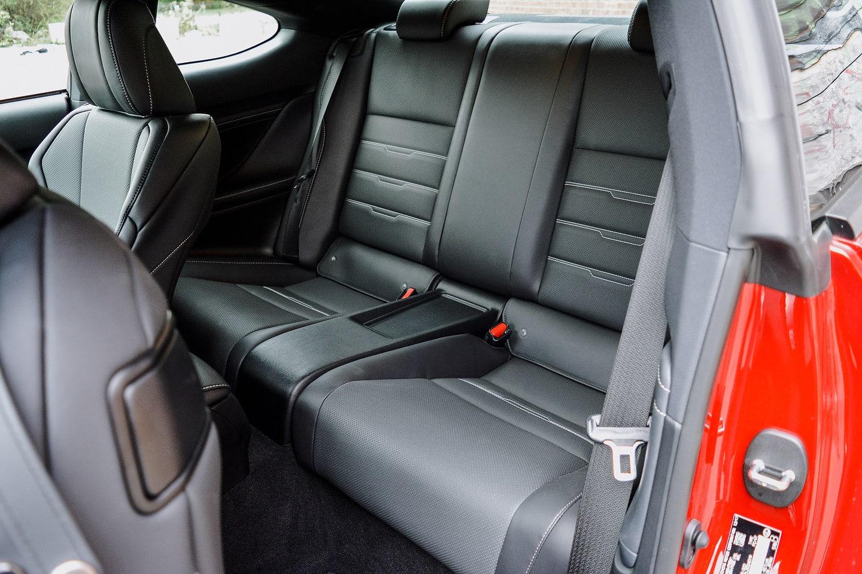 2018 Lexus RC 300 AWD F-Sport rear seats