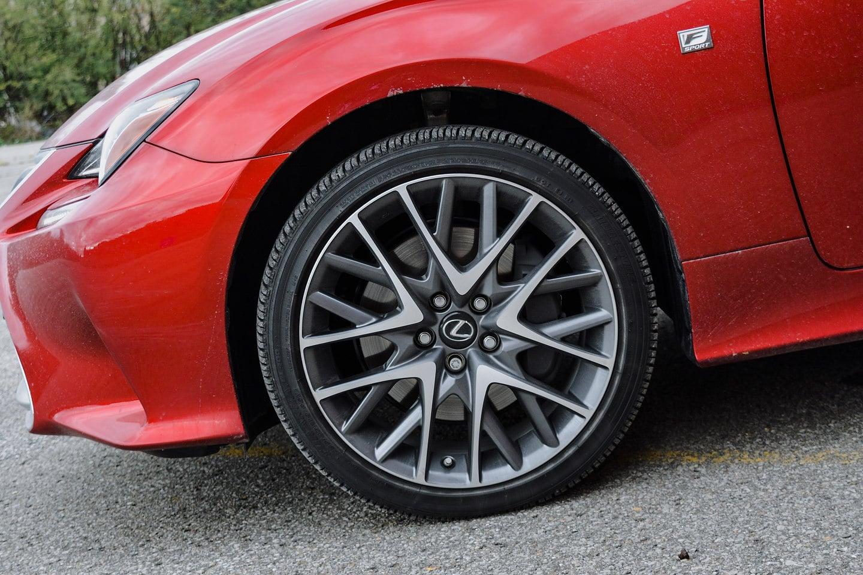 2018 Lexus RC 300 AWD F-Sport wheel