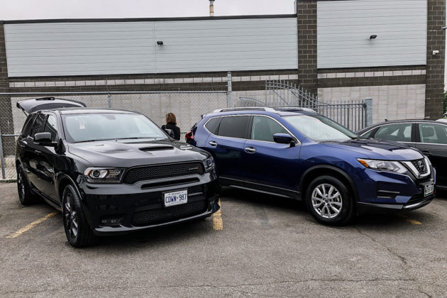 Dodge Durango and a Nissan Rogue on Nokian Tyres | Photo: Matt St-Pierre